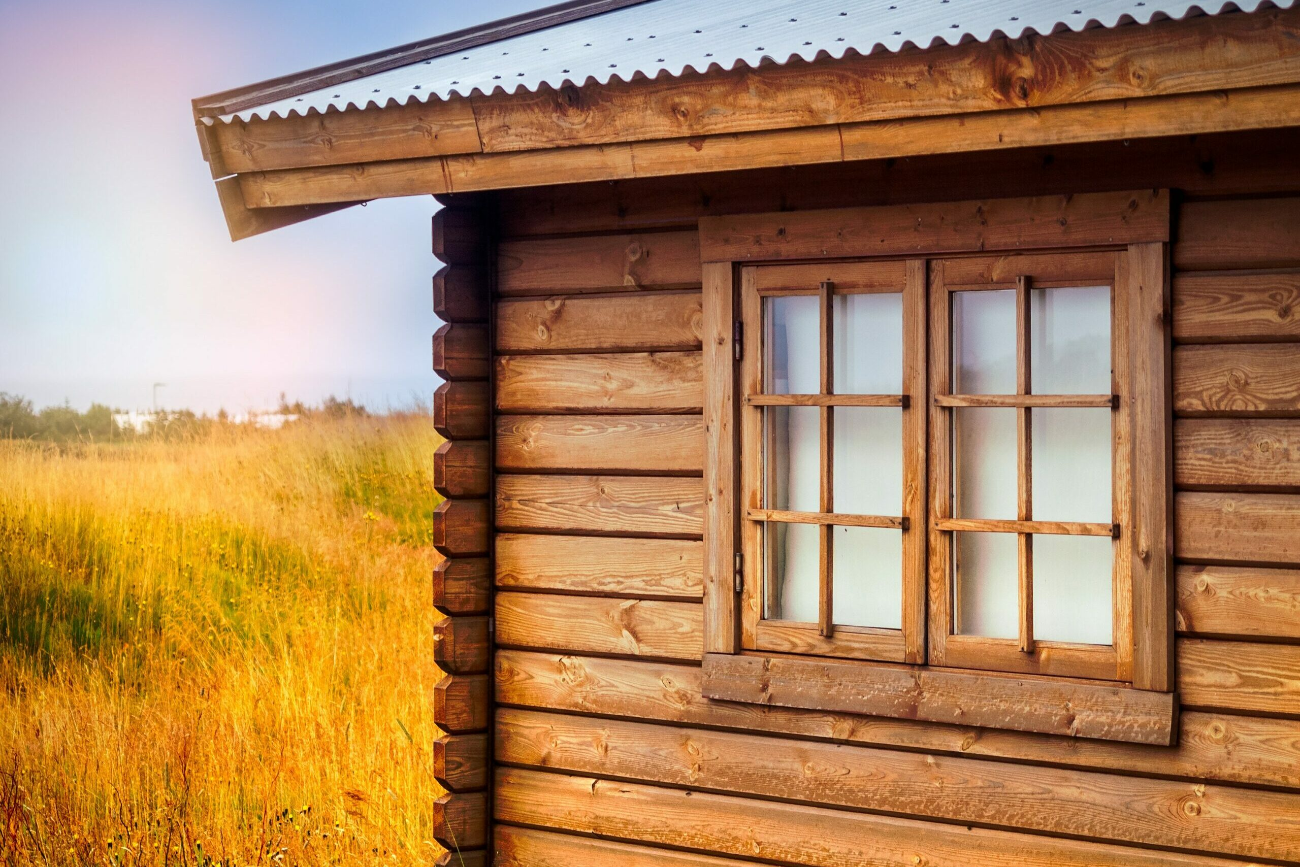 casa in legno -flatting