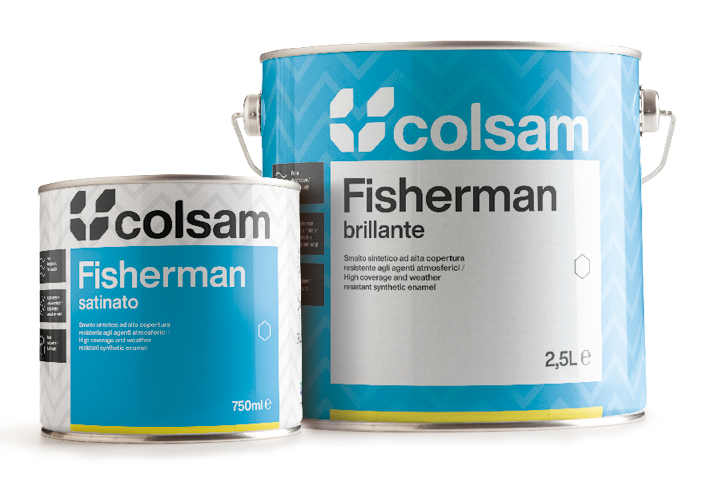 fisherman smalto sintetico Colsam