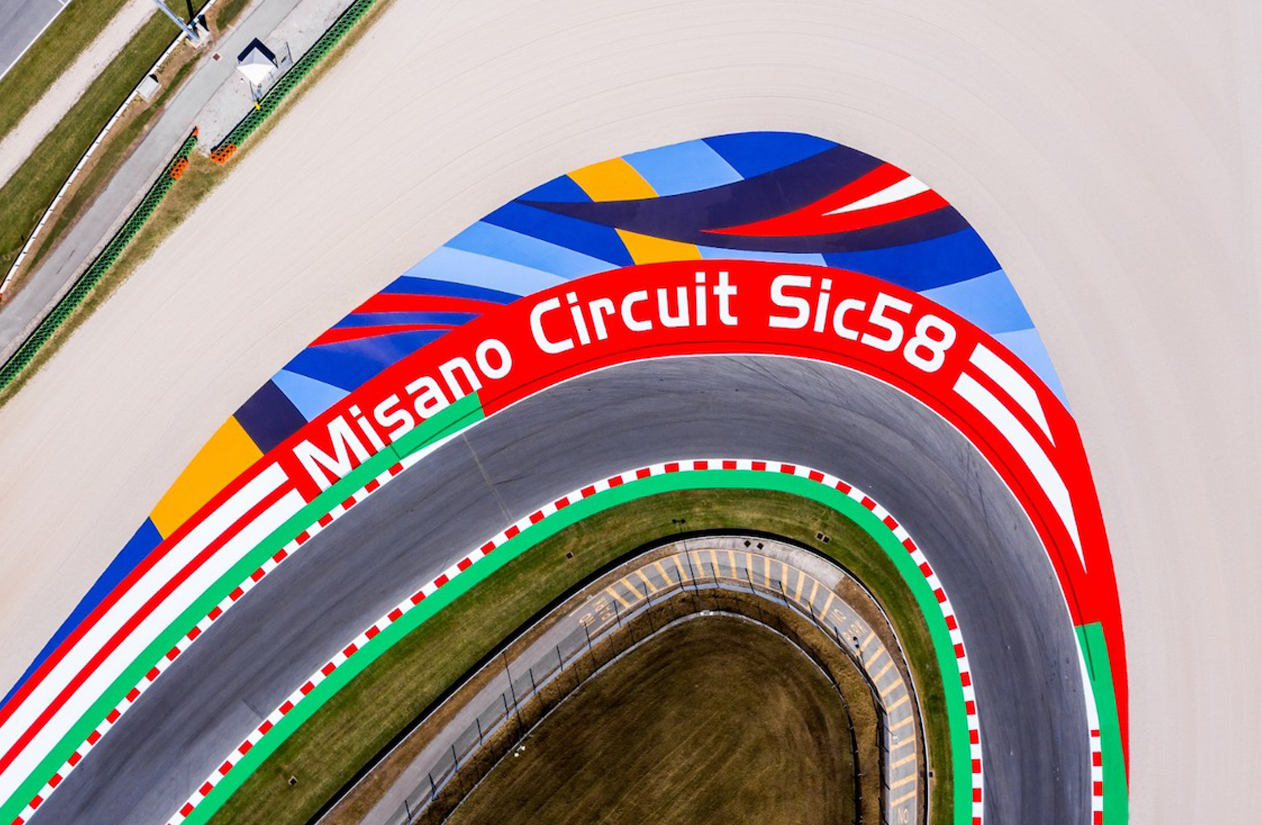 samoline_pittura colsam per circuiti sportivi